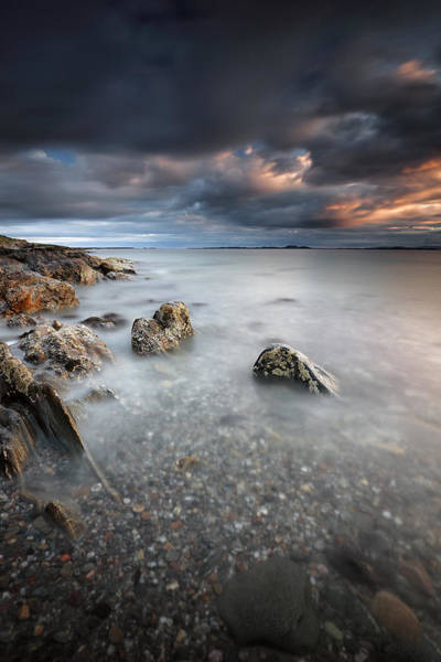 Southend Photograph - Ronachan Coast by Grant Glendinning