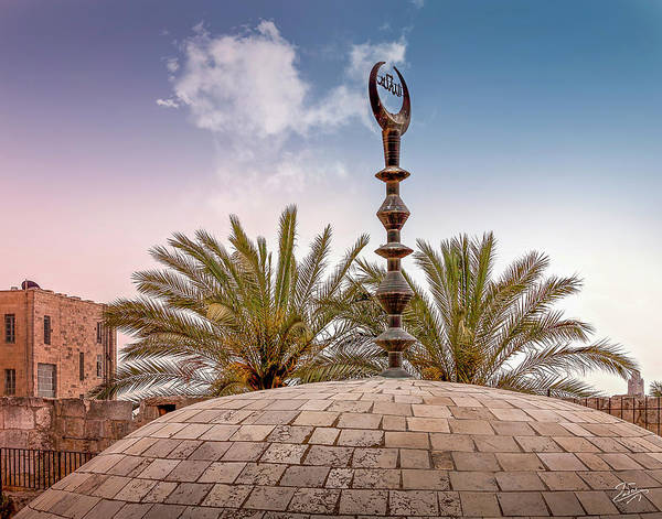 Photograph - Roof In Old Jerusalem by Endre Balogh