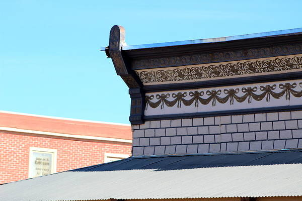 Photograph - Roof Of The Oriental Saloon by Colleen Cornelius