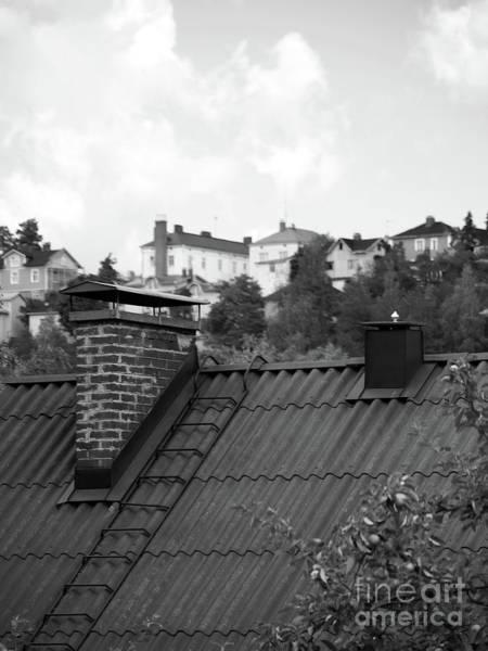 Roof Art Print by Tapio Koivula