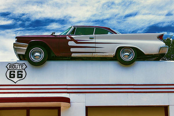 Roof Top Photograph - Roof Top Car by Garry Gay