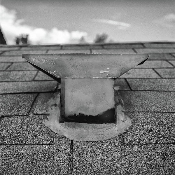 Wall Art - Photograph - Roof Vent Cap - T Style by YoPedro