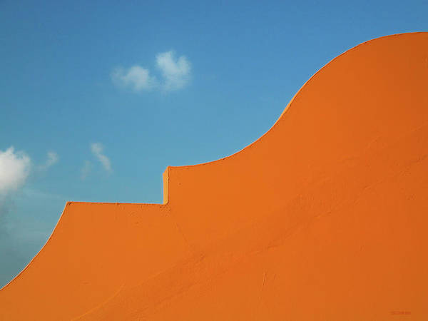 Photograph - Roofline And Sky - Bermuda by Frank Mari