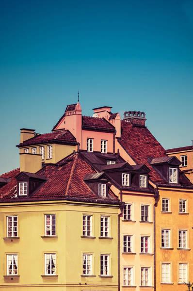 Wall Art - Photograph - Roofs Of Warsaw by Jaroslaw Blaminsky