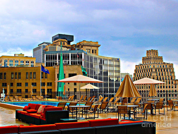 Photograph - Rooftop Oasis by Jenny Revitz Soper