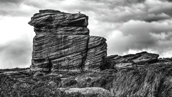 Photograph - Rook Rock by Makk Black
