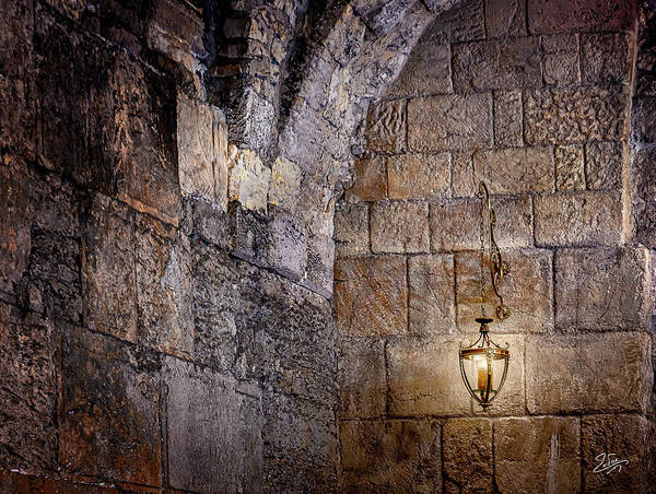 Photograph - Room Inside The Western Wall  by Endre Balogh
