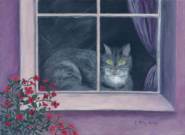 Painting - Room With A View by Kathryn Riley Parker