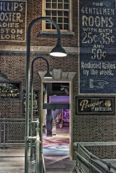 Brick House Mixed Media - Rooms For Rent 25 Cents Signage by Thomas Woolworth