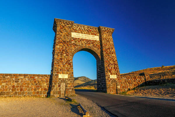 Photograph - Roosevelt Arch by Todd Klassy