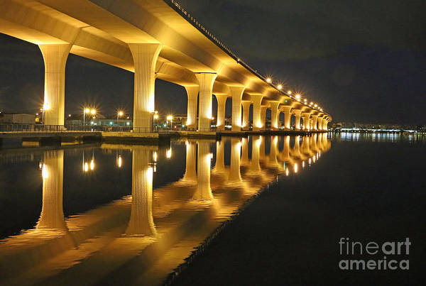 Art Print featuring the photograph Roosevelt Reflection by Tom Claud