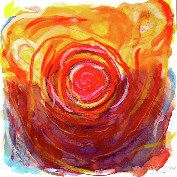 Wall Art - Painting - Root Chakra by Thom Duffy