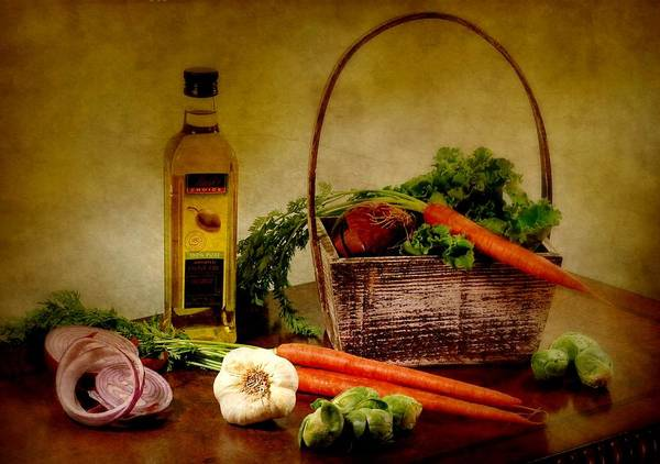 Wall Art - Photograph - Root Garden In Basket by Diana Angstadt