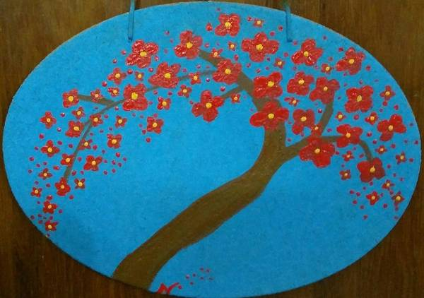 Wall Art - Painting - Roots And Soul by Nidhi Sharma