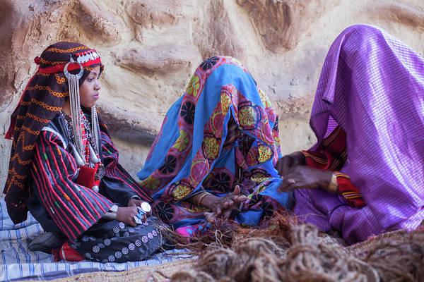 Photograph - Rope Makers by Ibrahim Azaga