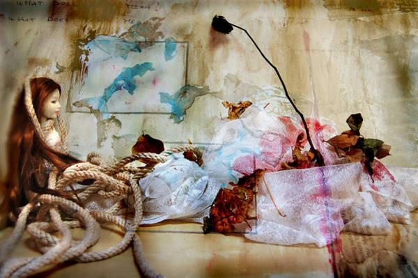Fairy Pools Digital Art - Ropegift2 by Barbara Agreste
