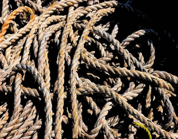 Painting - Ropes by Michael Thomas
