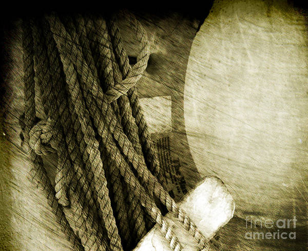 Photograph - Ropes by Susanne Van Hulst