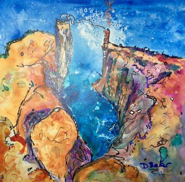 Wall Art - Painting - Roping My Soul by Dolores Baker