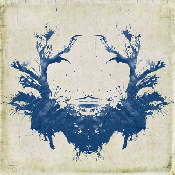 Boho Wall Art - Digital Art - Rorschach II by Brandi Fitzgerald