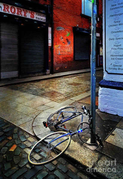 Photograph - Rory's Fishing Tackle Bicycle by Craig J Satterlee