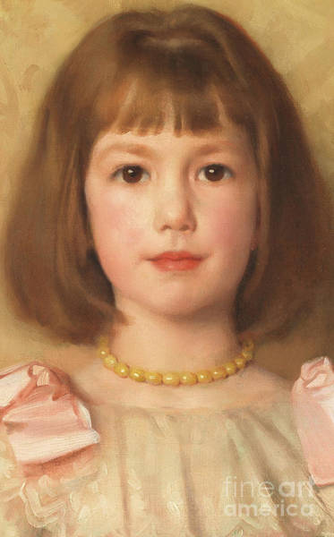 Rosy Wall Art - Painting - Rosalind by Thomas Cooper Gotch