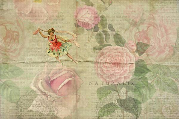 Digital Art - Rose Dancer by Peggy Collins