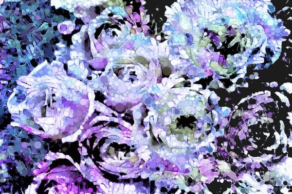 Mixed Media - Rose Euphoria by Susan Maxwell Schmidt