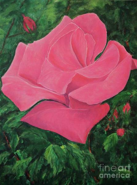 Painting - Rose by Gail Kent