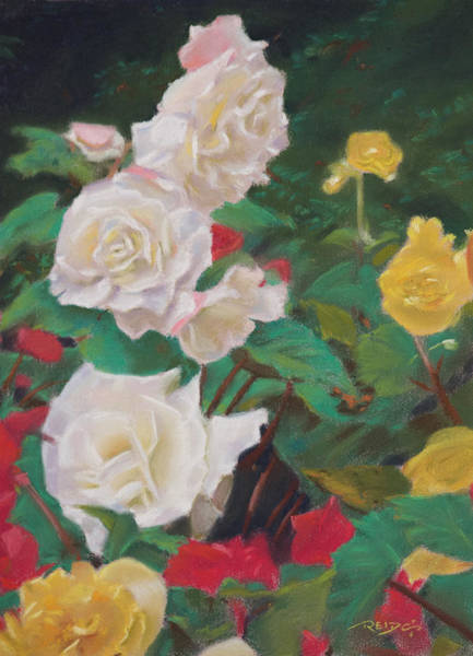 Painting - Rose Garden by Christopher Reid