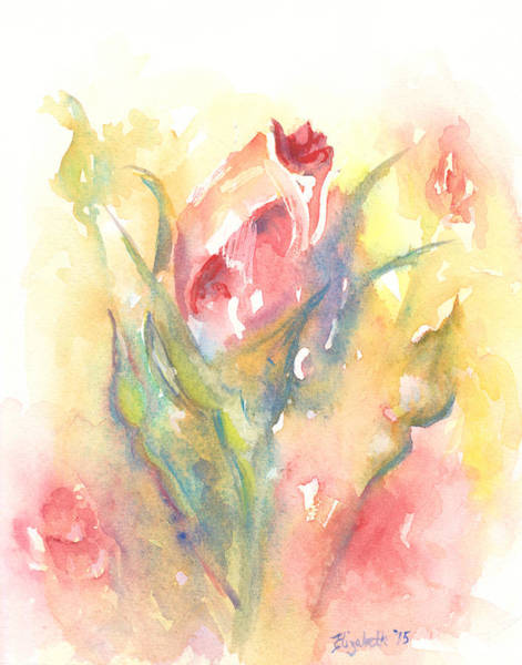 Painting - Rose Garden One by Elizabeth Lock