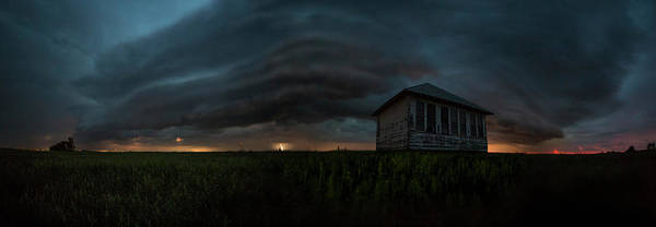 Shelves Photograph - Rose Hill Storm  by Aaron J Groen