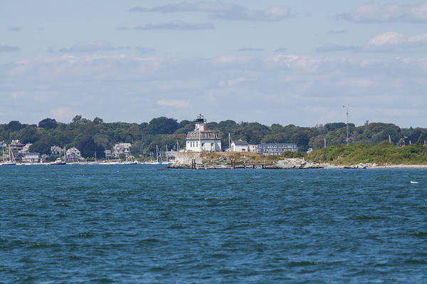 Photograph - Rose Island Lighthouse by Brian MacLean