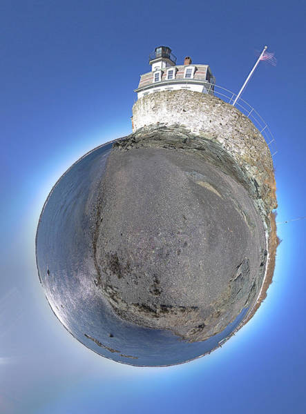 Wall Art - Photograph - Rose Island Lighthouse by Christopher Blake