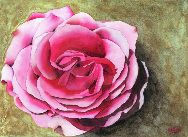 Painting - Rose by Ken Powers