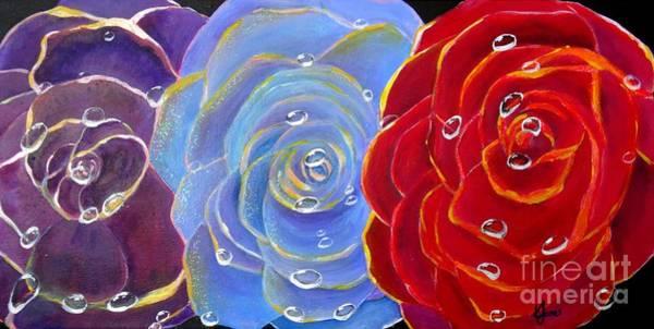 Painting - Rose Medley by Karen Jane Jones