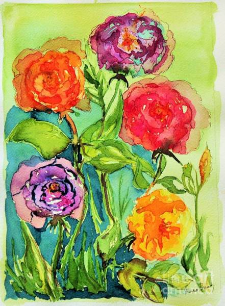 Painting - Rose Medley by Marcia Breznay