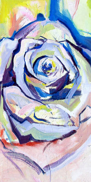 Painting - Rose Number 2 by John Jr Gholson
