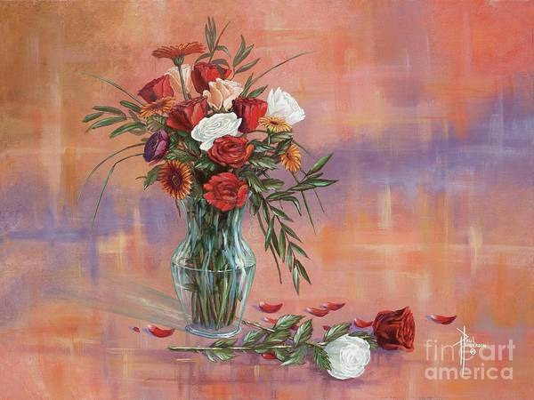 Wall Art - Painting - Rose Parade by Paul Henderson