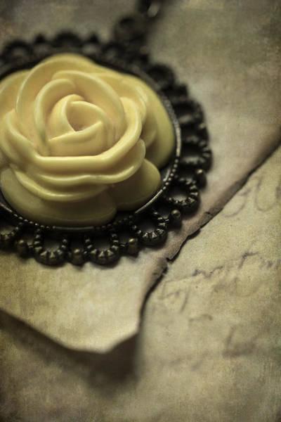 Photograph - Rose Pendant by Jaroslaw Blaminsky