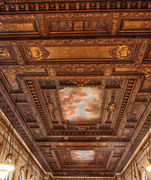 Wall Art - Photograph - Rose Room Ceiling by Jessica Jenney