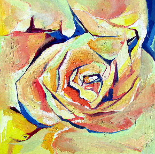 Painting - Rose Sun by John Jr Gholson
