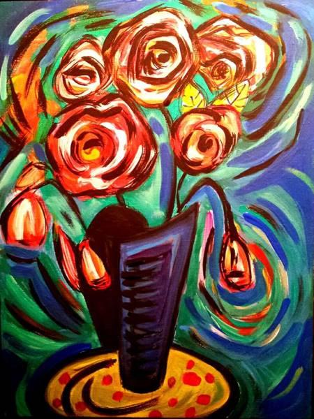 Painting - Rose Vibes by Nikki Dalton