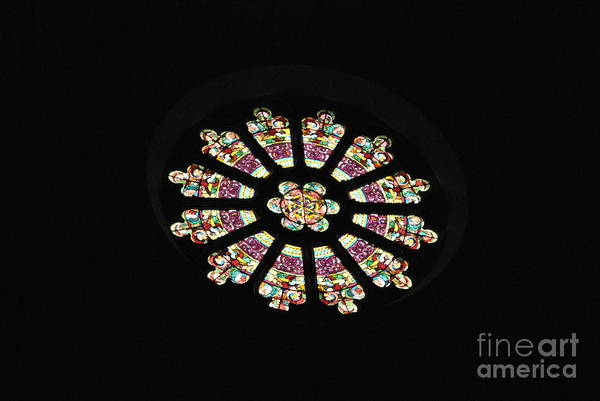 Lehigh University Wall Art - Photograph - Rose Window by Jacqueline M Lewis