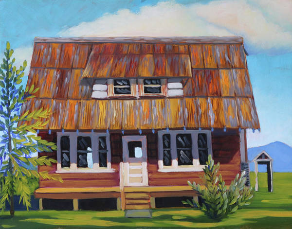 Painting - Roseberry House by Kevin Hughes