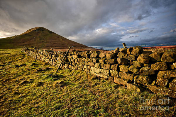 Yorkshire Wall Art - Photograph - Roseberry Topping by Smart Aviation