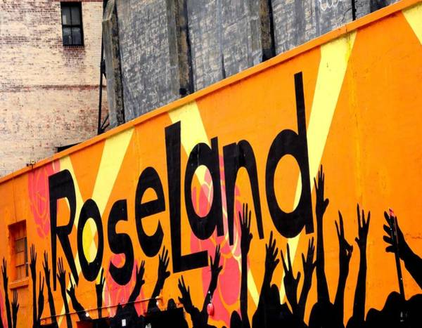 Roseland Ballroom In Nyc Art Print