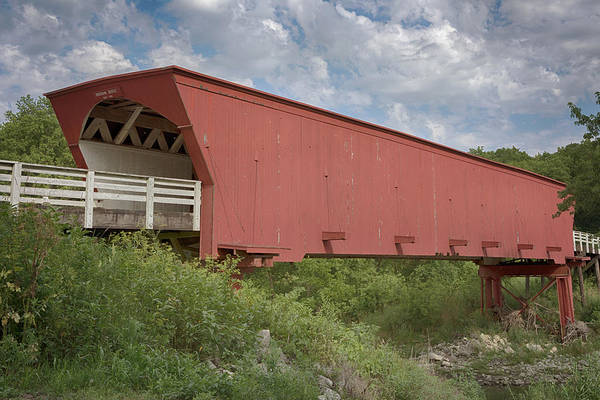 Photograph - Roseman Covered Bridge 2 by Susan Rissi Tregoning