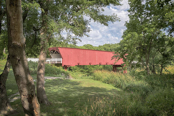 Photograph - Roseman Covered Bridge by Susan Rissi Tregoning