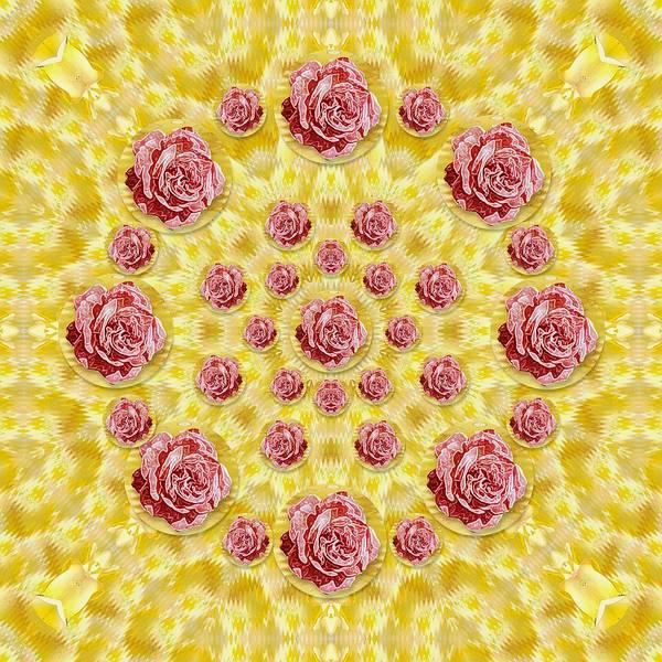 Wall Art - Mixed Media - Roses And Fantasy Roses  by Pepita Selles